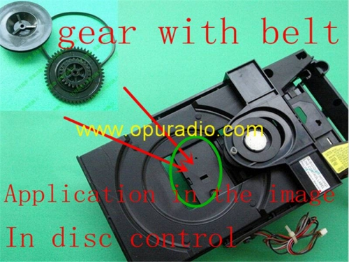 un ensemble Gear pour VAM1201 VAM1202 Loader CDM12.1 CDM12.2 Load Eject disc problem for Philips CD player