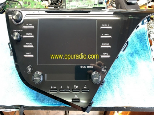 86140-06870 86140-06890 06B40 pour récepteur 2018-2019 Toyota Camry Radio Entune 3.0 Carplay