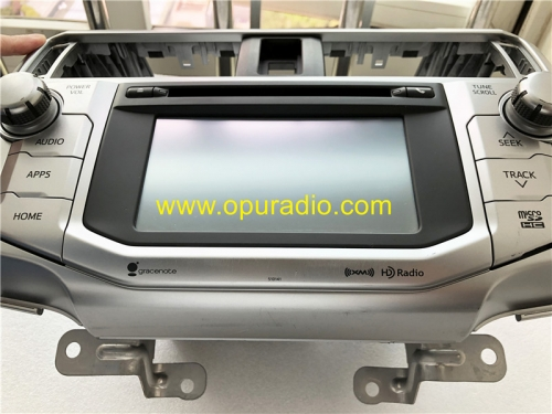 Panasonic 86100-35372 35352 pour 2016-2019 Toyota 4Runner Touch Display HD Radio Navigation Audio