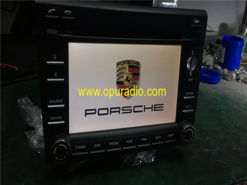 PORSCHE 911997997.2 BOXSTER CAYMAN NAVIGATION GPS PCM3 HEAD UNIT Harman Becker STEREO RADIO
