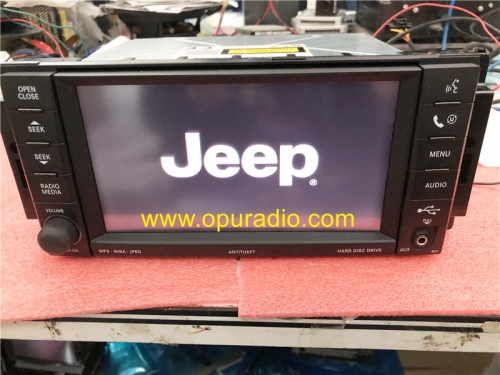 NTG4 REZ Radio P05064761 Pour Jeep Compass Chrysler Dodge HDD AUX Media CD DVD Audio